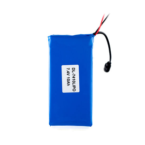 7.4V 10ah Rechargeable Lipo Battery Lithium Polymer Battery Pack