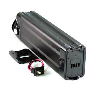 48V 15ah 18650 Li Ion Silver Fish Type Ebike Battery with Charger