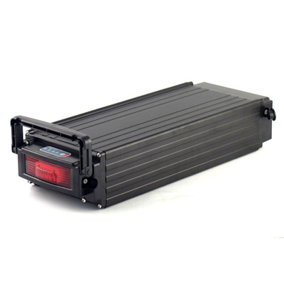 500W Electric Bike Battery 36V 15ah Rear Rack Lithium Battery with Aluminum Case+Li-ion 2A Charger