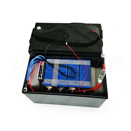 LiFePO4 Lithium Iron Phosphate Battery Pack 12V 100ah with BMS for Solar System RV Electric Car Scooter Motorcycle Boat