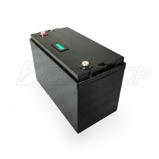 Deep Cycle Life BMS Built-in Storage Lithium 12V 100ah LiFePO4 Akku Battery
