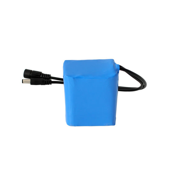 Light Weight Rechargeable 12V 4ah Lithium Battery Pack for LED Light
