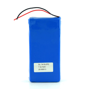 Rechargeable Lipo 2s1p Lithium Li Ion Polymer Battery Pack 7.4V 10ah