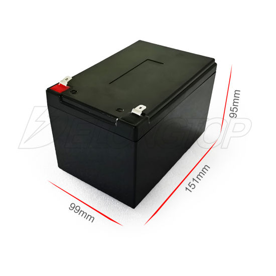 12 Volt Rechargeable Lithium Battery 12V 12ah LiFePO4 Battery