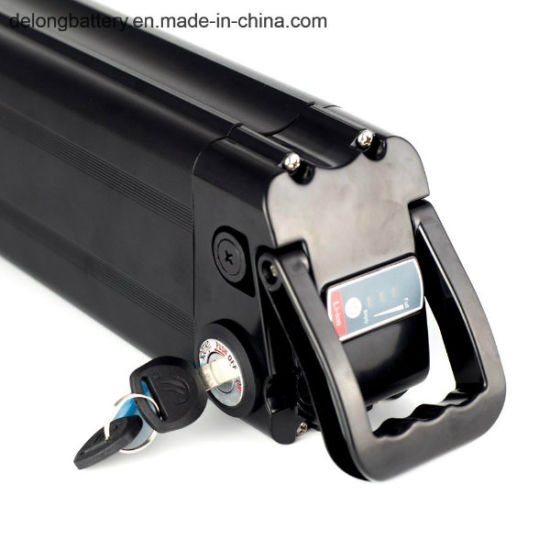 Electric Vehicle Battery 36V 10ah for E-Bicycle Sliver Fish Style