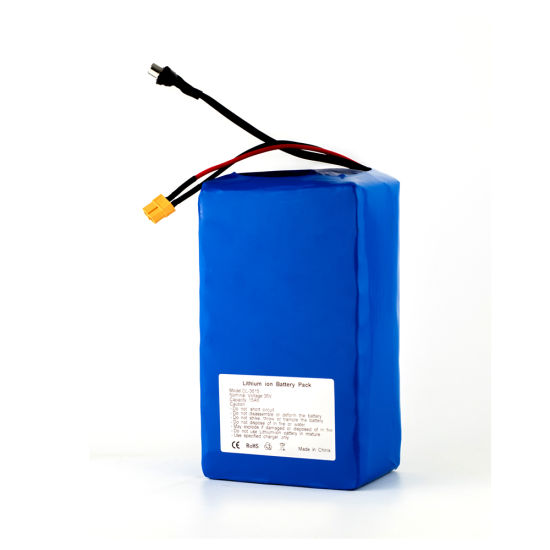 10s6p Hot Selling Rechargeable 36V 15ah 18650 Lithium Battery Pack for Electric Bike