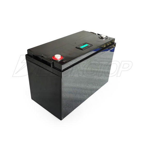 Deep Circle Solar RV 12V 12.8V 100ah Lithium Ion Battery