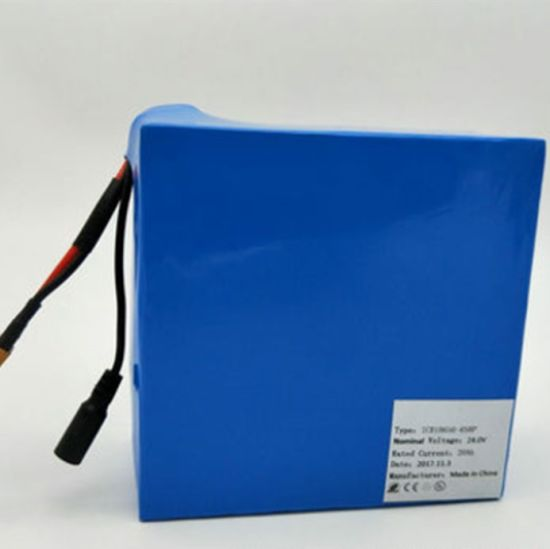 24V 20ah Lithium Ion Ebike Battery for Electric Scooter