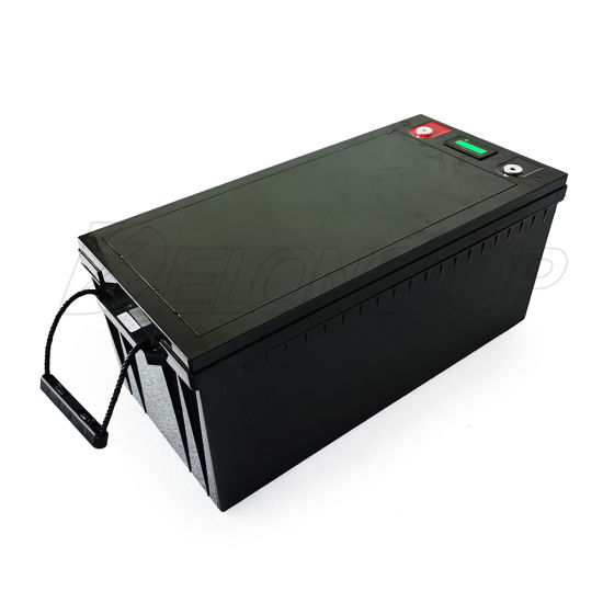 Ess Battery 12V 200ah Lithium Iron Phosphate LiFePO4 Battery