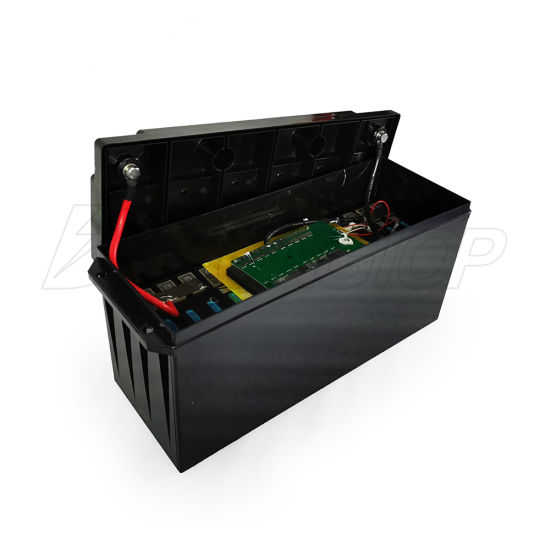 Waterproof 12volt Lithium LiFePO4 Deep Cycle Battery 12V 150ah Built in BMS Battery Pack