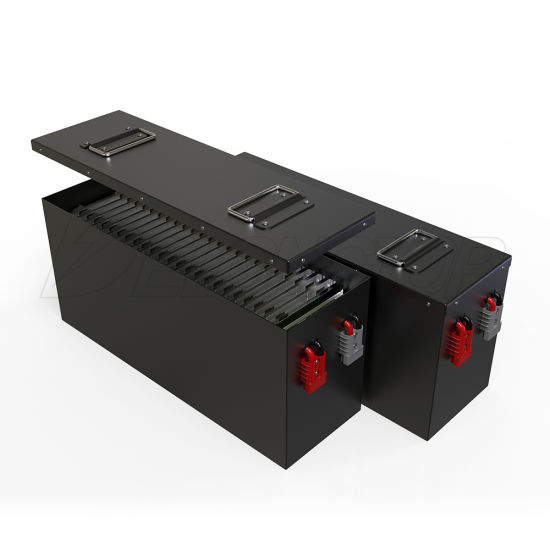 Deep Cycle 2000 Cycle Times LiFePO4 12V 300ah Solar Energy System Battery with LED Power Show