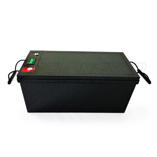 Deep Cycle Solar Battery 12V 200ah Lithium Ion Translated Phosphate Battery