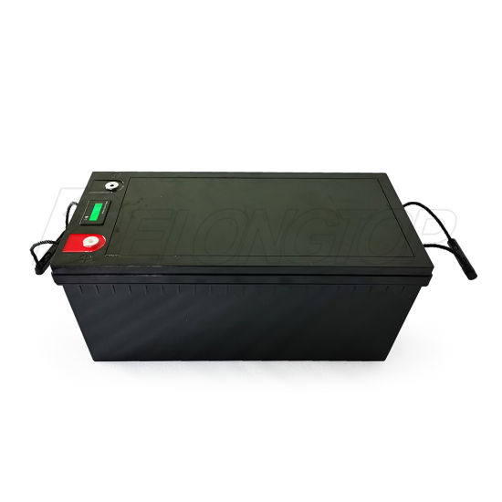battery 200ah 12v battery lithium 12v 200ah solar system with lcd display BMS