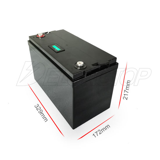LiFePO4 Battery 12V 100ah with BMS and Bluetooth