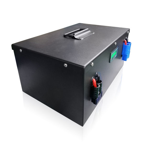Deep Cycle Lithium Iron Phosphate Battery LiFePO4 24V 100ah Box