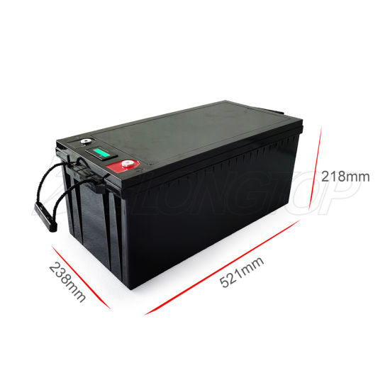 12V 200ah Lithium-Iron Battery Pack LiFePO4 for Auto RV Solar