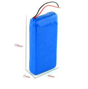 Rechargeable Lthium Polymer Battery Pack 7.4V 10ah Batteries