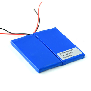 Customized Rechargeable 2s1p 7.4V 2200mAh Lipo Battery Pack for Digital Products