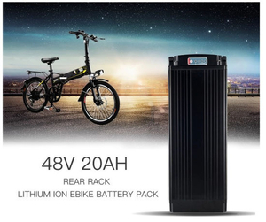 48V 15ah Ebike Lithium Ion Battery for 1000W Electric Bicycle